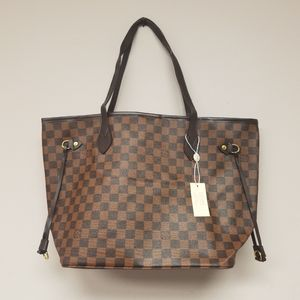 New large checkered Louis Vuitton Bag.